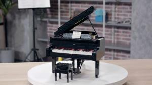 Lego Ideas Grand Piano, il primo pianoforte in mattoncini suonabile