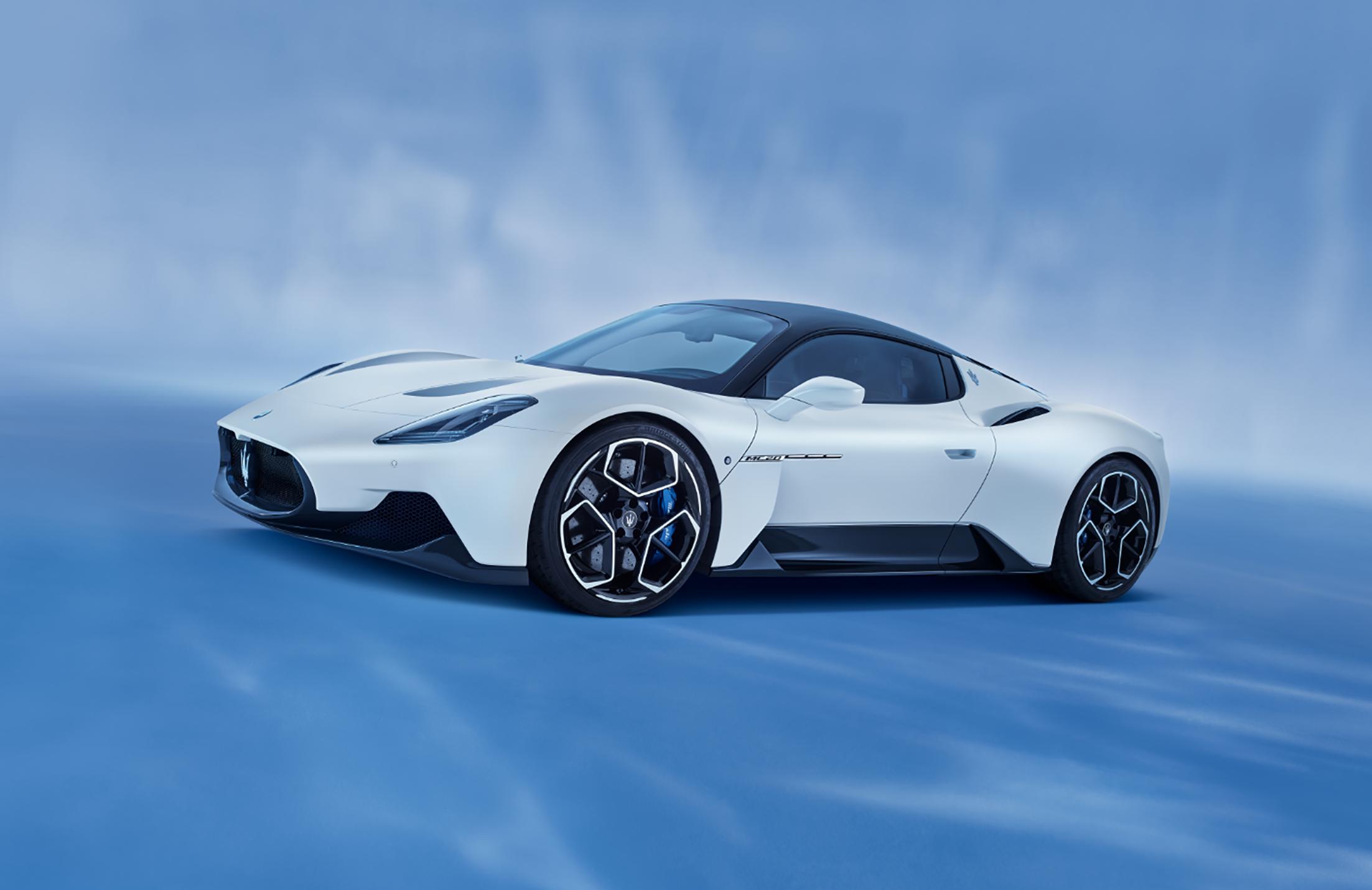 Maserati MC20: l'anteprima in vista della presentazione ufficiale