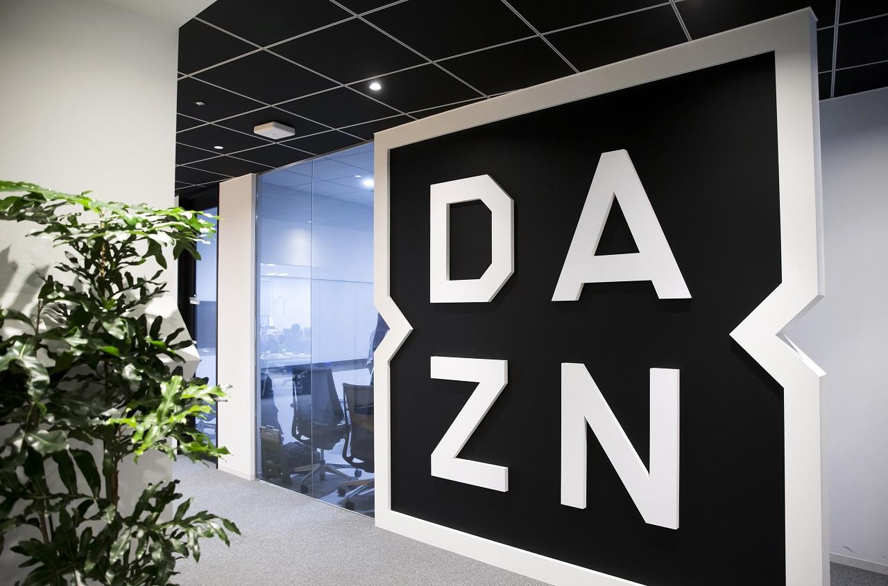 Il logo di DAZN