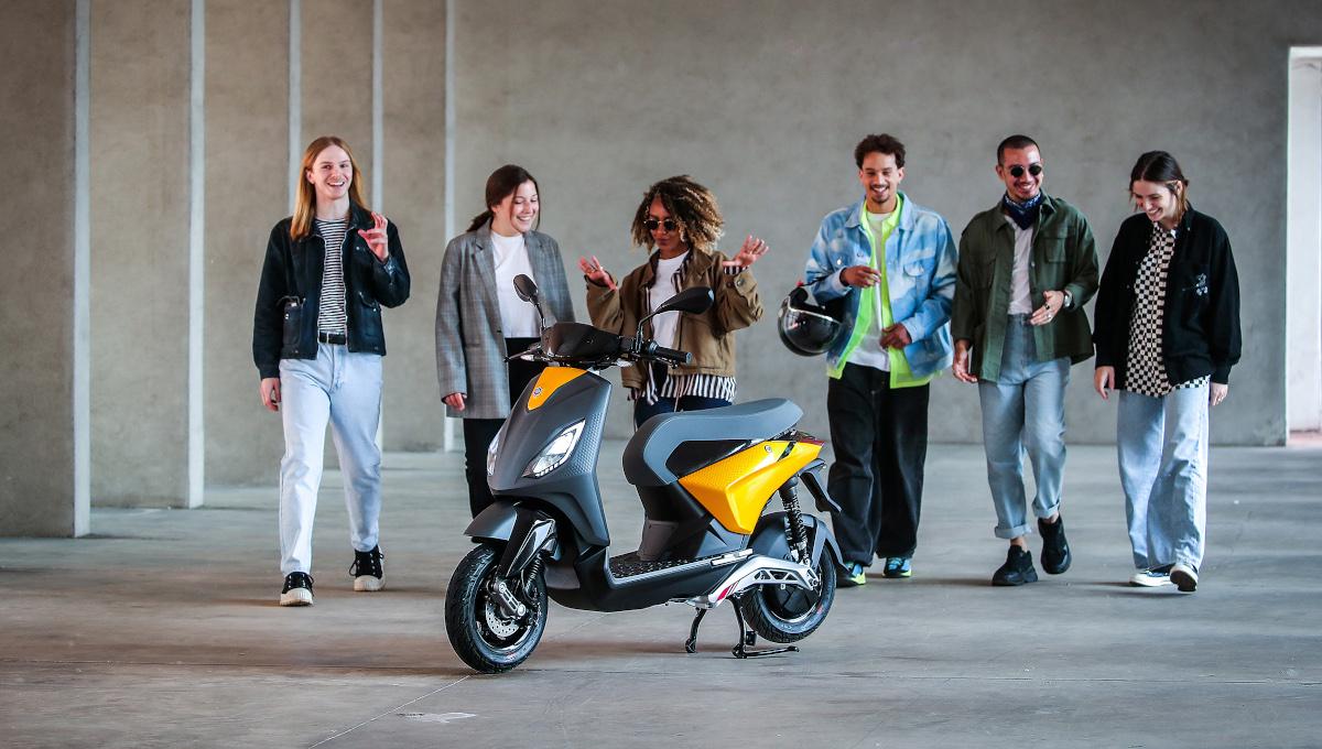 Piaggio 1, lo scooter elettrico per i giovani