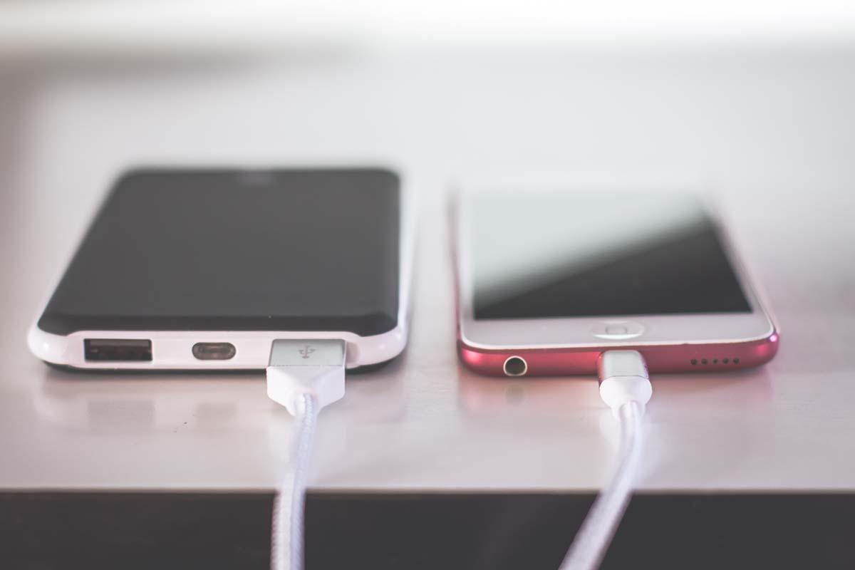 caricabatterie smartphone