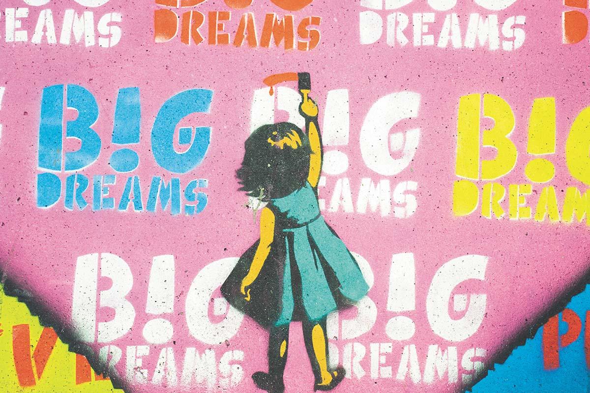 Giornata mondiale dei sogni murales