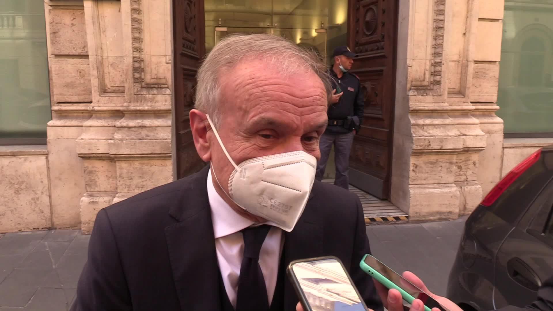 """Sport, Petrucci: """"Nei palazzetti 100% di capienza è un nostro diritto"""""""