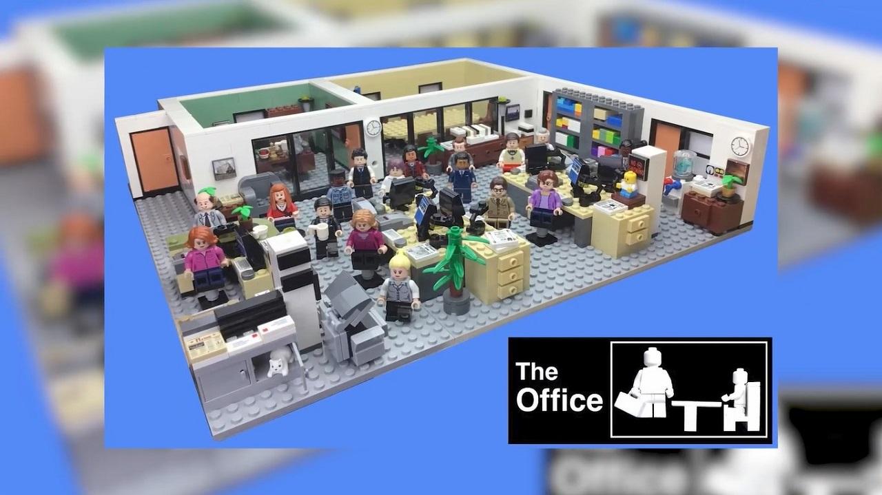 Il set Lego dedicato a The Office (credit: ideas.lego.com)