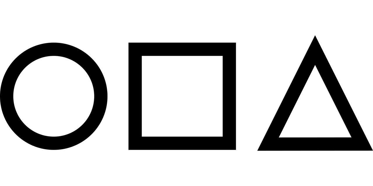 I simboli tipici di Squid Game