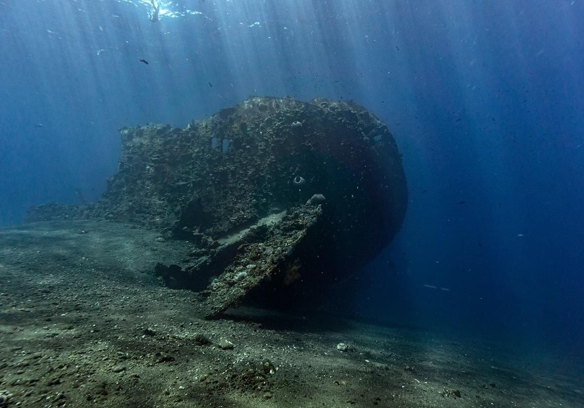 Otranto, scoperto relitto sommerso