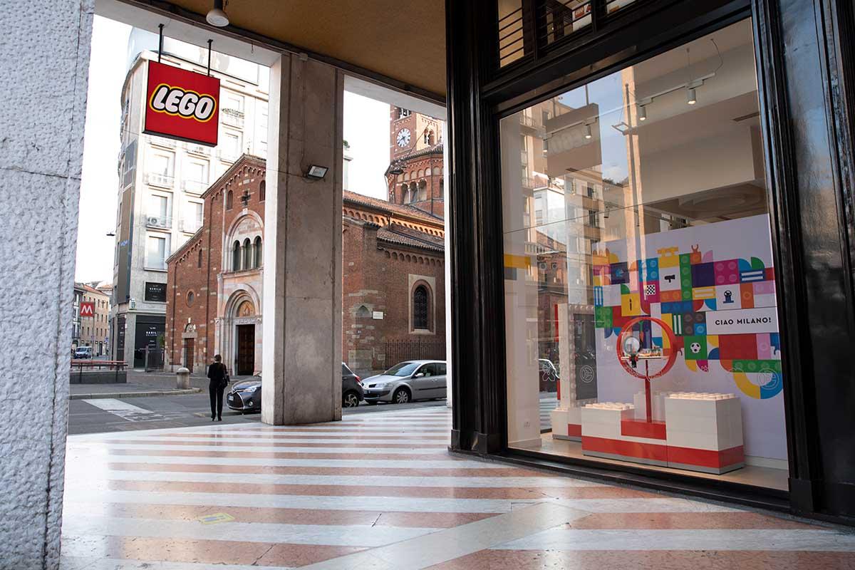 Lego store Milano San Babila