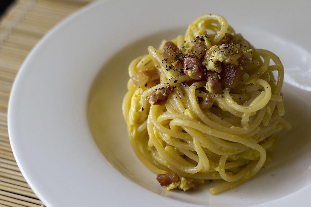Pasta alla carbonara, la ricetta di Luciano Monosilio